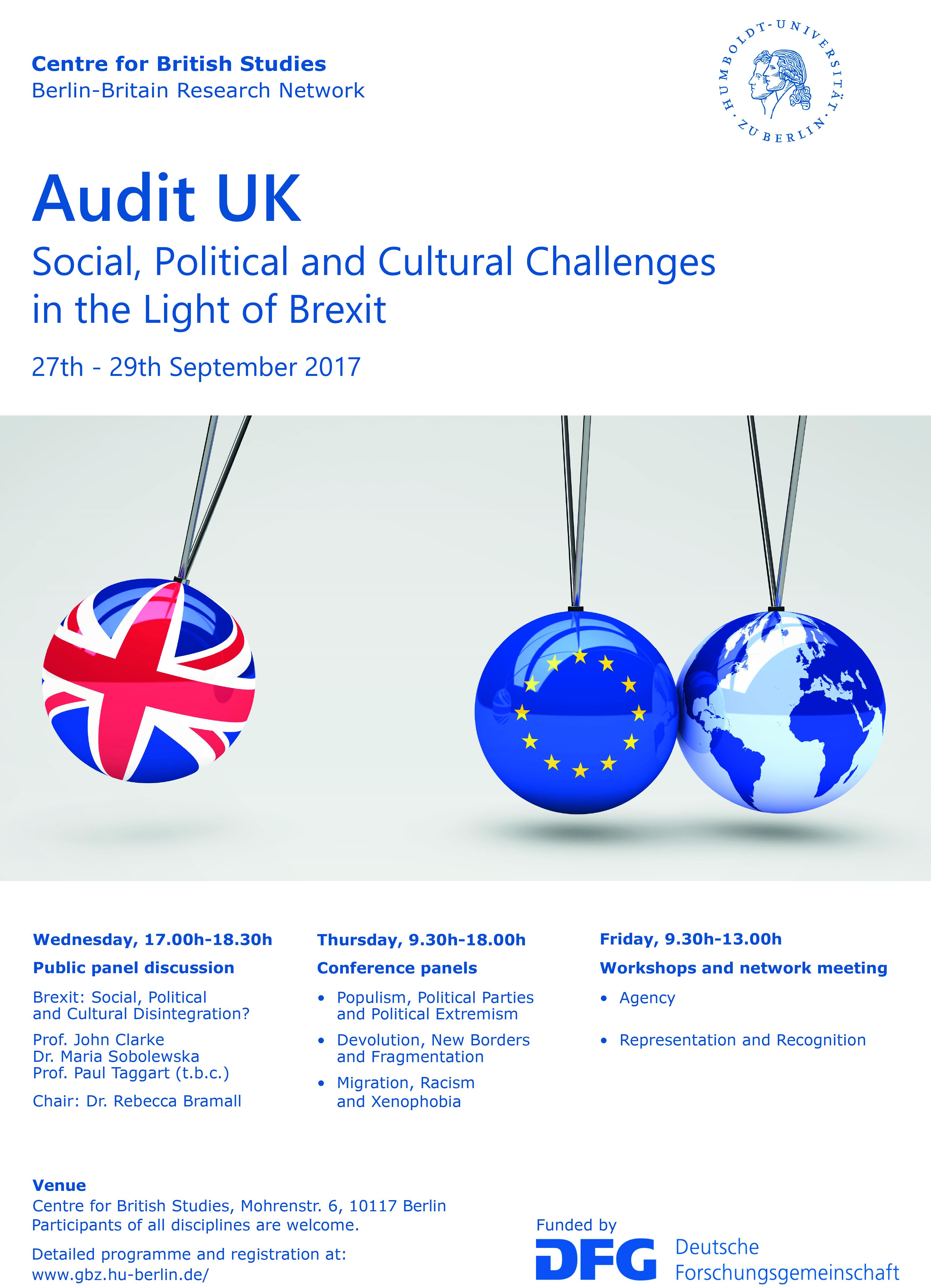 Audit UK Poster