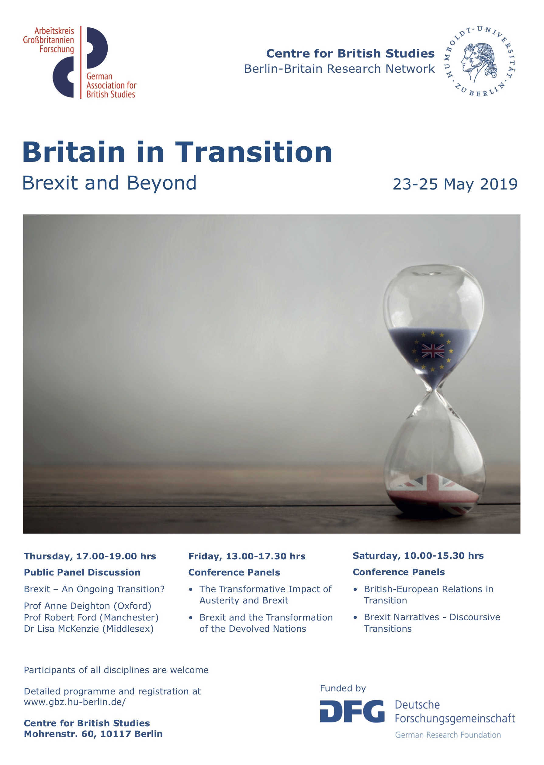 Britain in Transformation Conference Poster